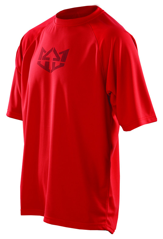Royal 2014 Dot Matrix Ride SS Jersey dot matrix red f