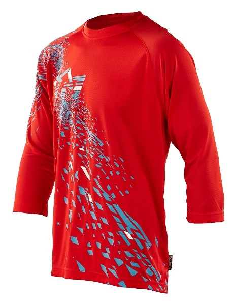 Royal 2013 Fragment Ride 3/4 Sleeve  Jersey fragment ride jersey red f