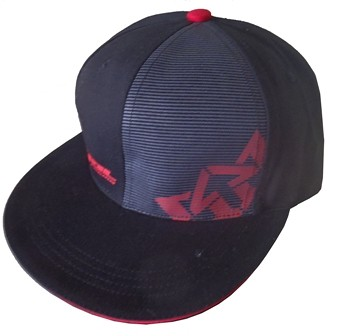 Royal Crown Ball Cap  stripe-cap-red web