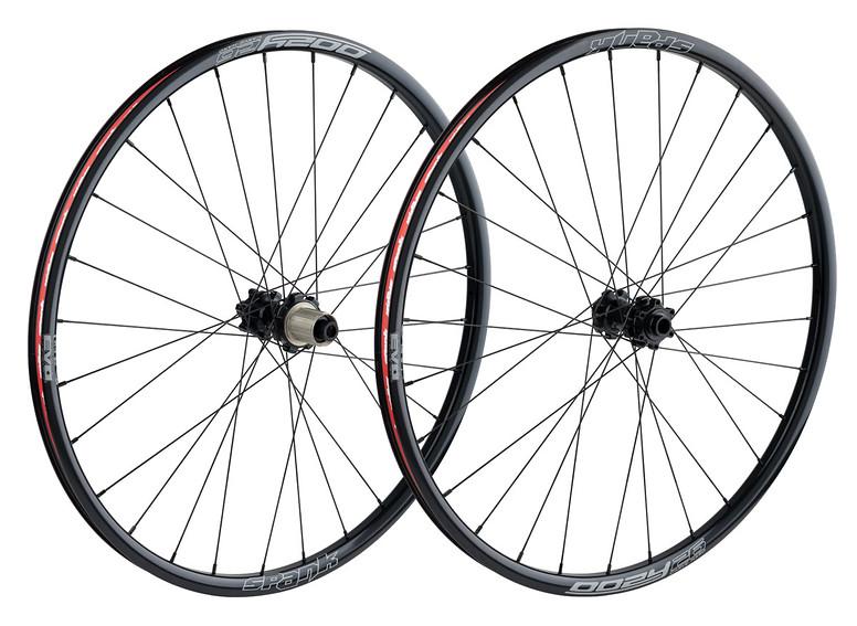 Spank Oozy 26AL EVO  Complete Wheels Oozy Wheelset (complete) black
