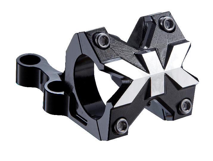 Kore Torsion Stem Torsion Boxxer Black Stem