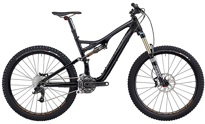 2013 Specialized Stumpjumper FSR Expert Carbon EVO  2013 Specialized - Stumpjumper FSR Expert Carbon EVO (black)