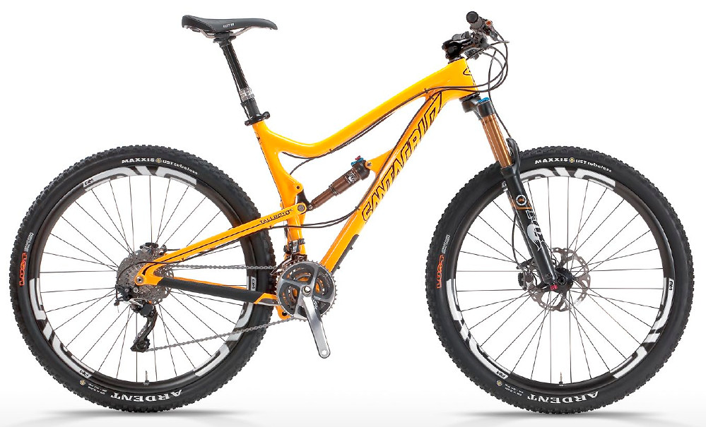 2013 Santa Cruz Tallboy LTc  Santa Cruz - Tallboy LTc (yellow)
