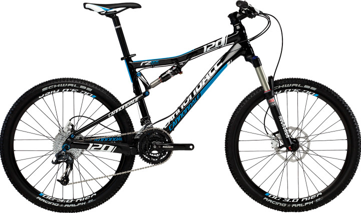 2013 Cannondale RZ One-Twenty RZ120 1 Bike 2013 Cannondale RZ One-Twenty RZ120 1 (black:blue)