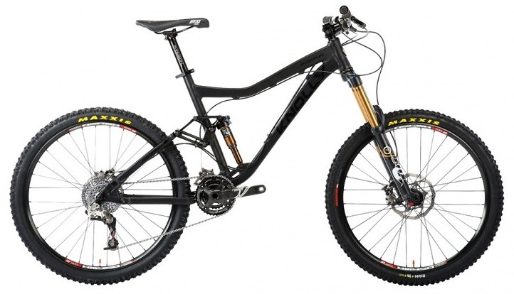 2013 Knolly Endorphin with Shimano XTR Trail  2013 Knolly Endorphin (black)