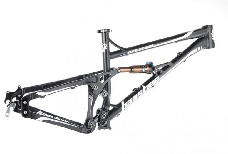 Banshee Bikes Spitfire V2 Frame 2013 Banshee Spitfire Frame (black)