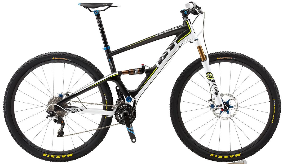 2013 GT Zaskar Carbon 100 9R Team Bike bike - GT ZASKAR CARBON 100 9R TEAM