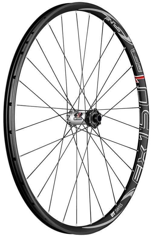 DT Swiss EX1501 Spline ONE 27.5 Complete Wheel EX_1501_SPLINE_ONE_27.5_BLACK_TA_15_100_FW_RGB