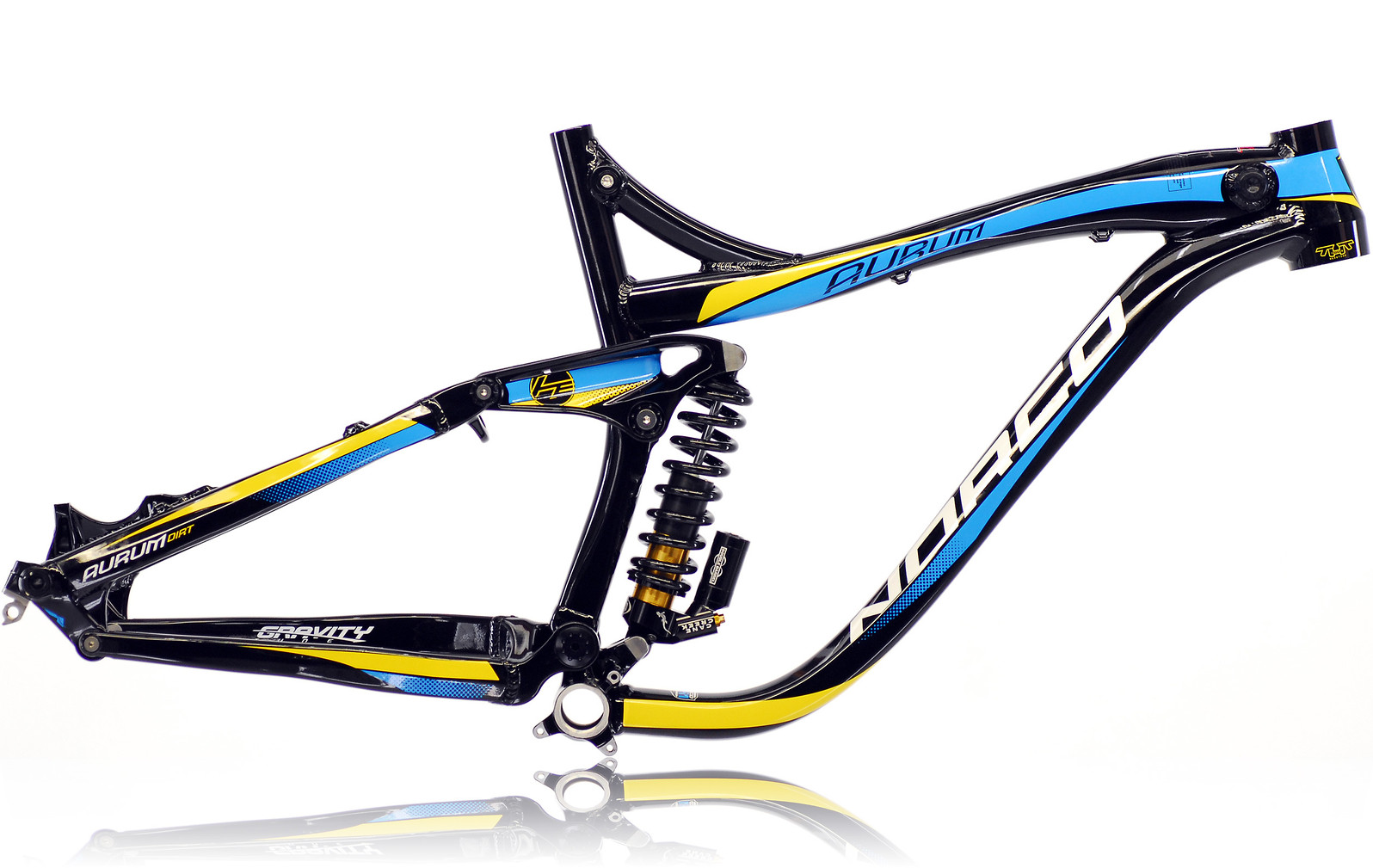 Norco Aurum 1 Dirt Team Frame aurum-dirt-framekit-1