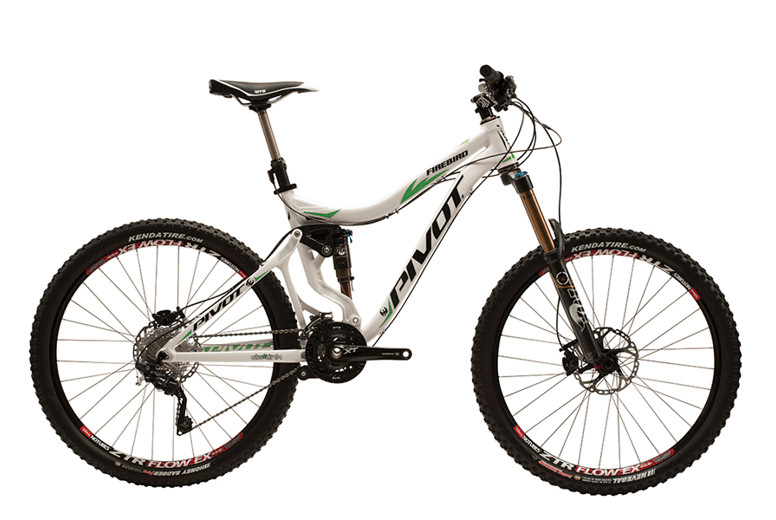 2013 Pivot Firebird 27.5 with XT  bike - Pivot FIREBIRD 27.5 XT White:Green