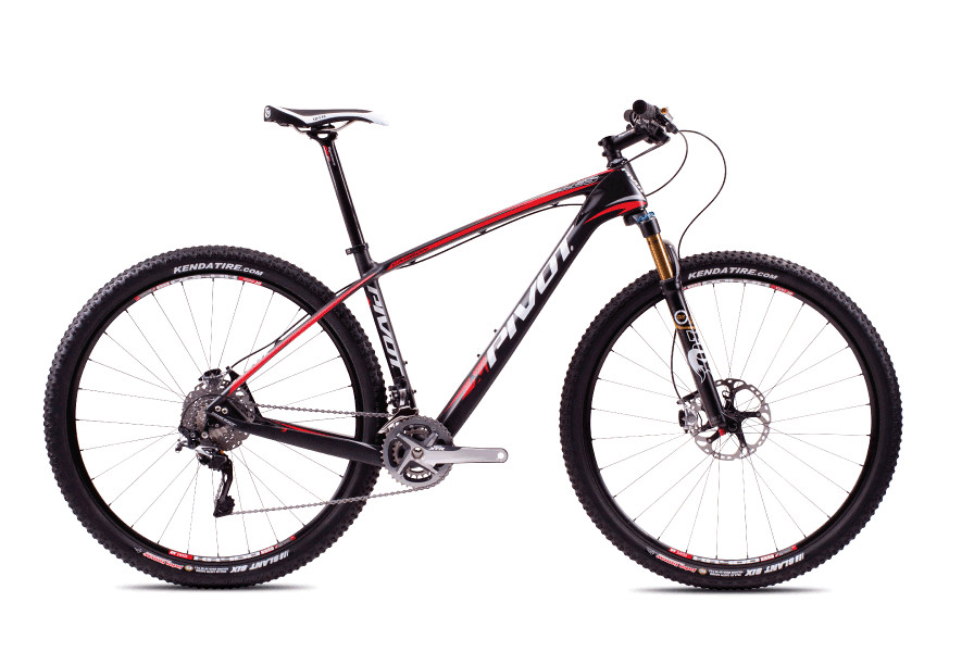 2013 Pivot Les with XT/SLX  bike - Pivot Les XTR (Carbon:Red)