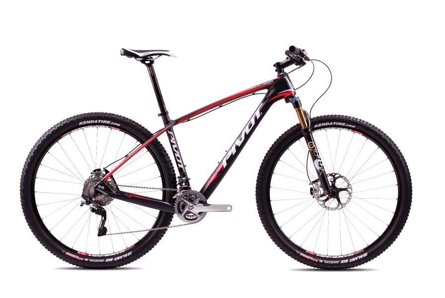 2013 Pivot Les with XTR  bike - Pivot Les XTR (Carbon:Red)