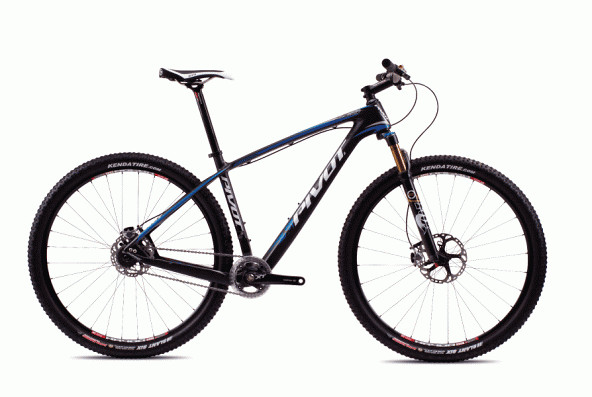 2013 Pivot Les with XX-1  bike - Pivot Les Single Speed (Carbon:Blue)