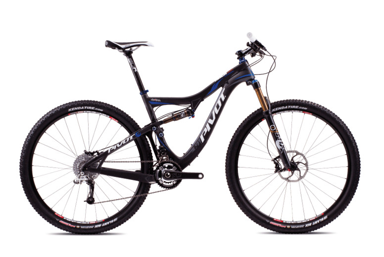 2013 Pivot Mach 429 Carbon with X0  Pivot Mach Carbon 429 with Sram X0 (Carbon:Blue)