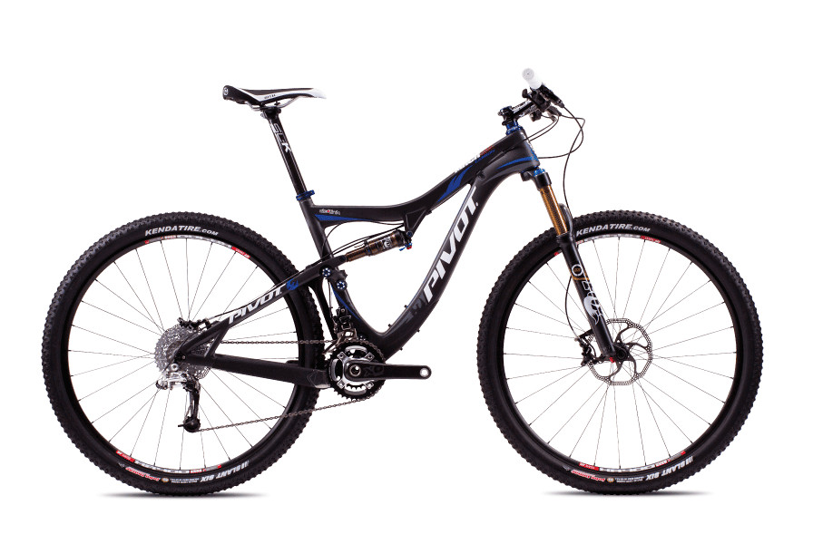 2013 Pivot Mach 429 Carbon with XT/SLX  Pivot Mach Carbon 429 with Sram X0 (Carbon:Blue)