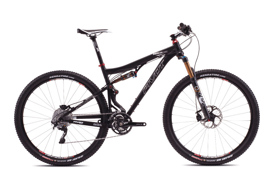 2013 Pivot Mach 429 with XT/SLX  Pivot Mach 429 with Shimano XT:XTR Pro (Anodized Jet Black)