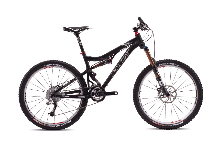 2013 Pivot Mach 5.7 with XT STD  bike - Pivot Mach 5.7 with X0 (Anodized Jet Black)