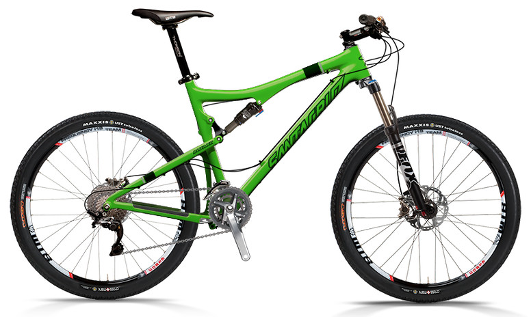 2013 Santa Cruz Blur XC Carbon with XTR xc 2x10 Build  bike - Santa Cruz Blur XC Carbon with XTR xc 2x10 Build (green)
