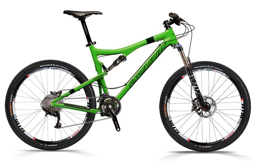 2013 Santa Cruz Blur XC Carbon with SPX xc 2x10 Build  bike - Santa Cruz Blur XC Carbon with SPX xc 2x10 Build (green)