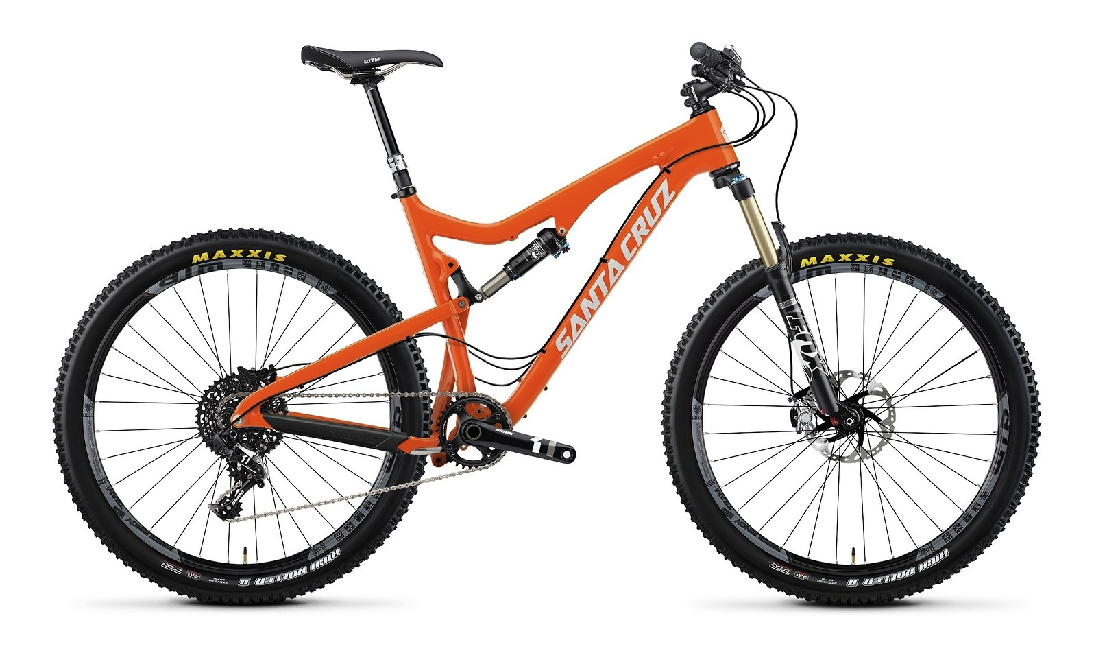 2014 Santa Cruz 5010 Carbon X0-1 AM 27.5 Bike 2014 Santa Cruz 5010 Carbon X0-1 AM 27.5 - orange