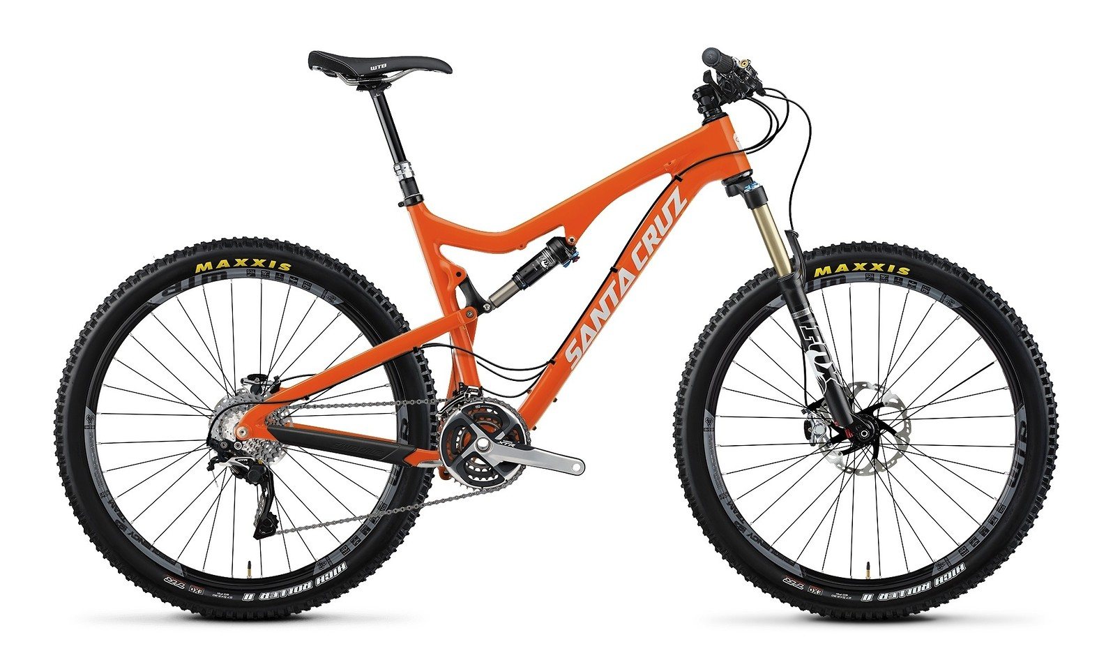 2014 Santa Cruz 5010 Carbon XTR AM 27.5 Bike 2014 Santa Cruz Solo Carbon XTR AM 27.5 - orange