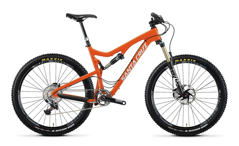 2014 Santa Cruz 5010 Carbon XX1 AM 27.5 Bike 2014 Santa Cruz 5010 Carbon XX1 AM 27.5 - orange