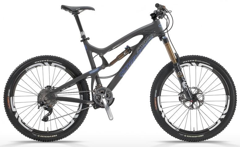 2014 Santa Cruz Nomad Carbon SPX AM Bike 2013 NOMAD Ccatalogflat