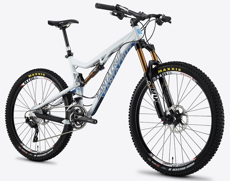 2014 Santa Cruz Bronson XTR AM 27.5 Bike Santa Cruz Bronson grey
