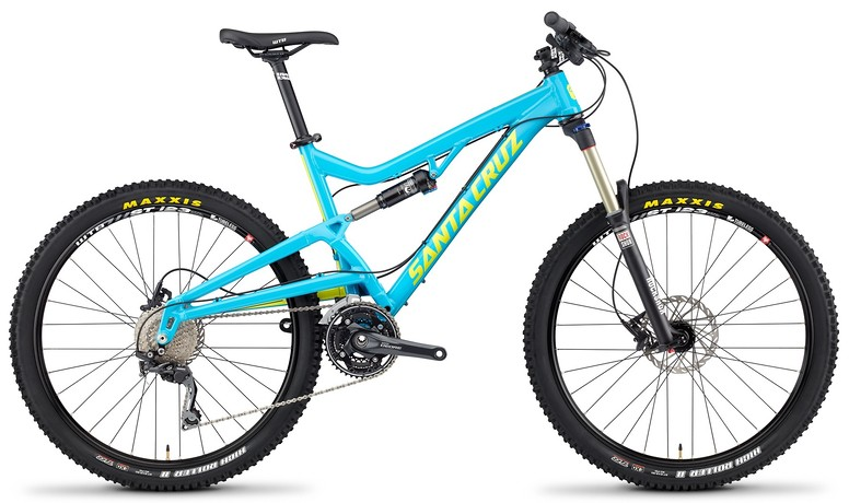 2014 Santa Cruz Heckler D AM 27.5 Bike 1 Heckler_Profile_BLUE