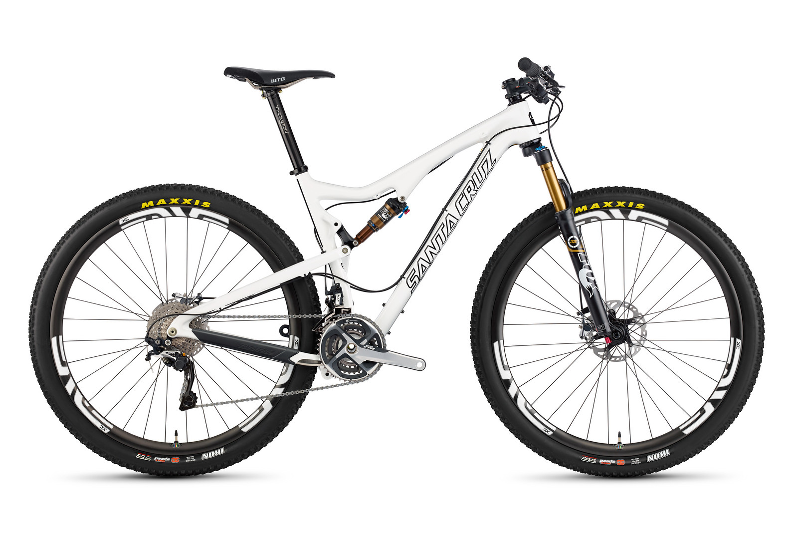 2014 Santa Cruz Tallboy Carbon 2 XX1 XC 29 Bike TallBoy_profile_Carbon_WHT