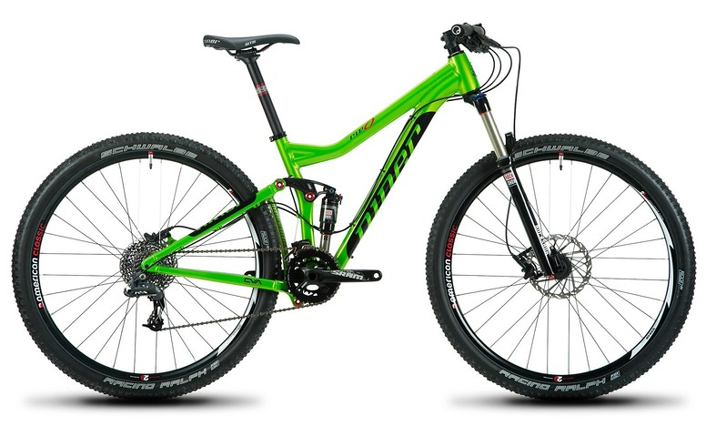 2014 Niner RIP 9  RIP9 NinerGreen Bike (Differs from Review Build)