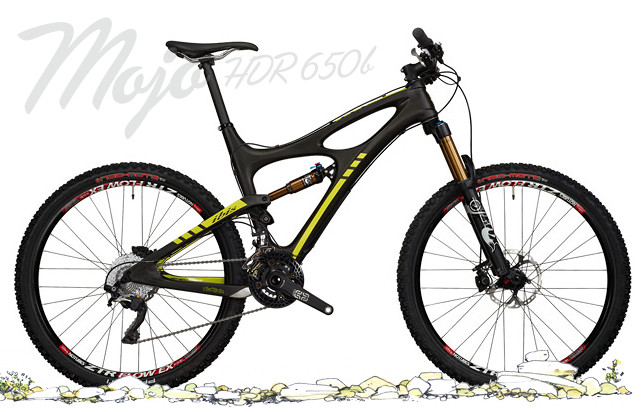 2014 Ibis Mojo HDR 650B with Shimano XTR Build  Bike - Ibis Mojo HDR 650B with Shimano XTR Build (black)