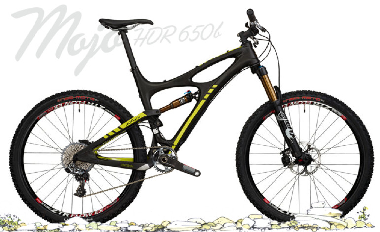 2014 Ibis Mojo HDR 650B with XX1 Build  Bike - Ibis Mojo HDR 650B with XX1 Build (black)