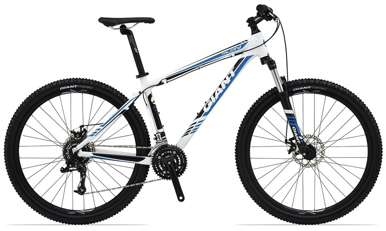 2014 Giant Talon 27.5 5 Bike Talon_27.5_5_white