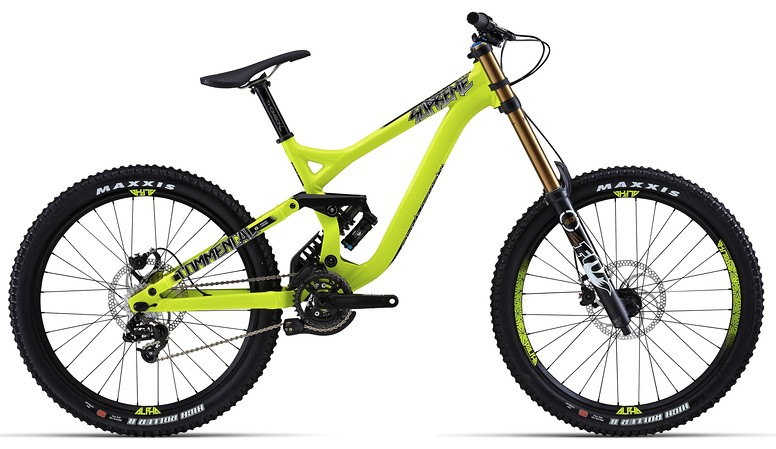 2014 Commencal Supreme DH World Cup Bike 14SUPREMEDHWC