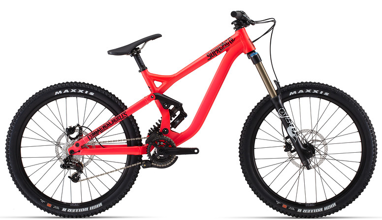 2014 Commencal Supreme FR 1 Bike 14SUPREMEFR1