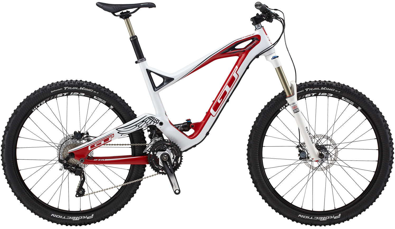 2014 GT Force Carbon Expert Bike g14_650m_force_expert_wht_3