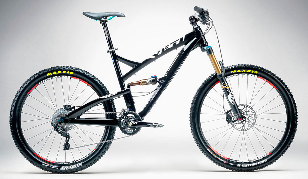 2014 Yeti SB75 Race  SB75 Enduro Black