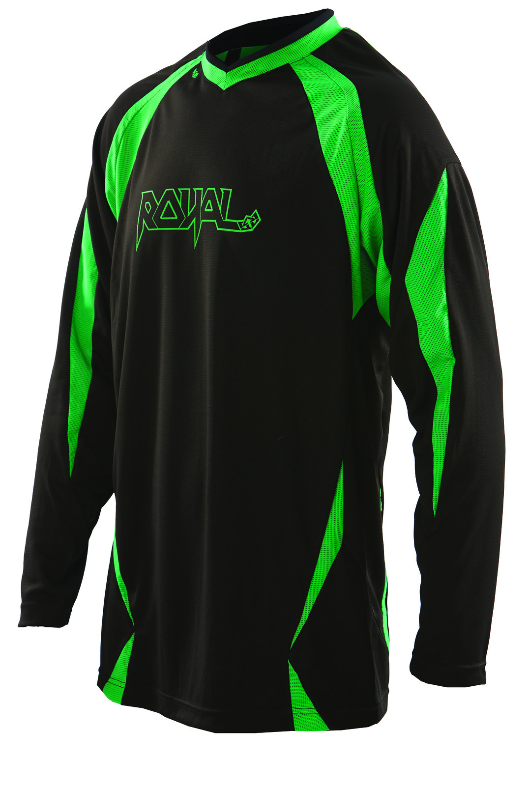 Royal 2014 Turbulence LS Jersey  LS turbulannce black green f