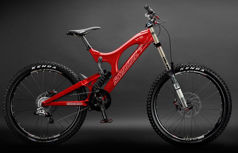 2010 Santa Cruz V10 Downhill Bike Reviews Comparisons