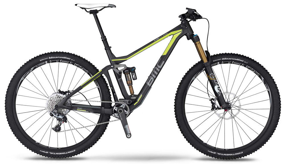 2014 BMC Trailfox TF01 29 with XX1  2014 BMC Trailfox TF01 29er - XX1