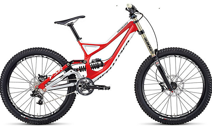 2014 Specialized Demo 8 I  Bike Bike - Specialized Demo 8 I - Gloss Red:White