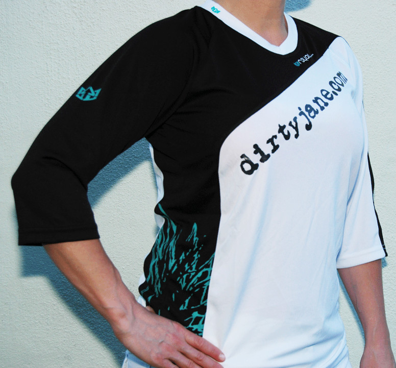Dirty Jane 3/4 Sleeve by Royal Racing Jersey dirtyjane.com 3/4 Sleeve Jersey by Royal Racing