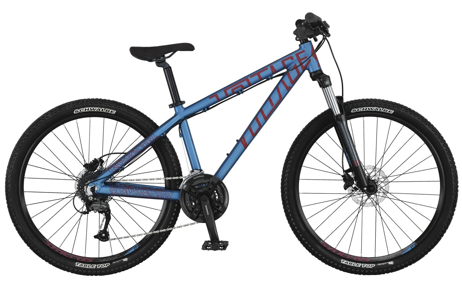 2014 Scott Voltage YZ 20 Bike SCOTT Voltage YZ 20 Bike - blue
