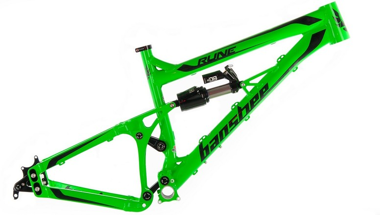 Banshee Bikes Rune V2 Frame Rune medium green website  (1 of 1)