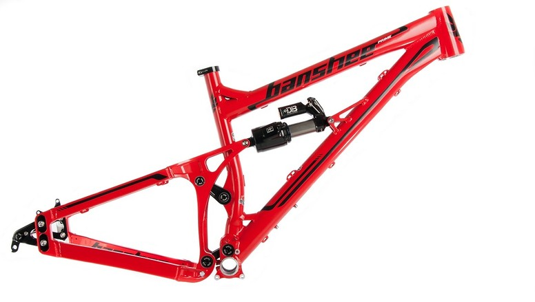 Banshee Bikes Prime Frame Prime red website  (1 of 1)