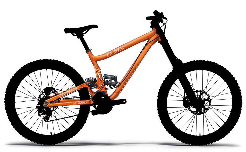 Turner DHR Ver. 5.0 Frame Frame - Turner DHR Ver. 5.0 -  Ano Orange