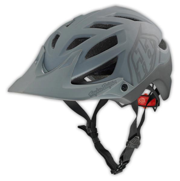 Troy Lee Designs 2014 A1 Drone Helmet A1 Helmet Drone Matte Gray