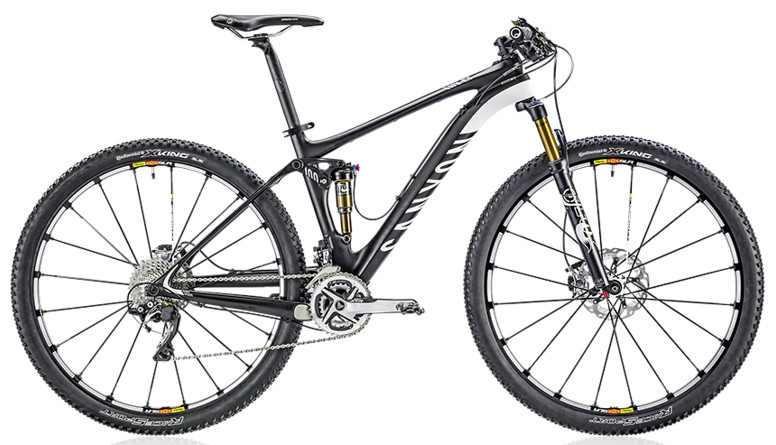 2014 Canyon Lux CF 9.9 SL  Bike 2014 Canyon Lux CF 9.9 SL  - carbon fiber black: white