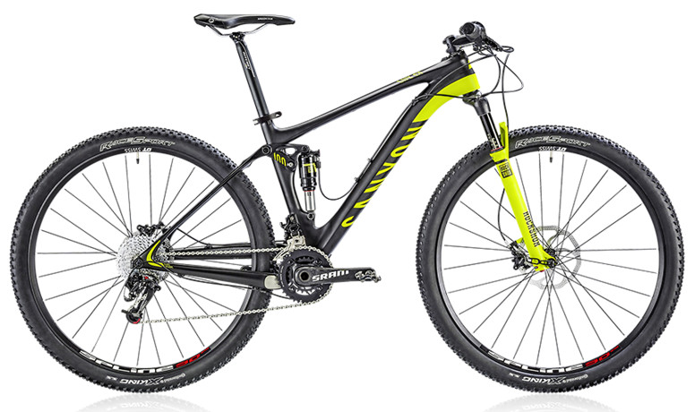 2014 Canyon Lux CF 9.9  Bike 2014 Canyon Lux CF 9.9 - team replica
